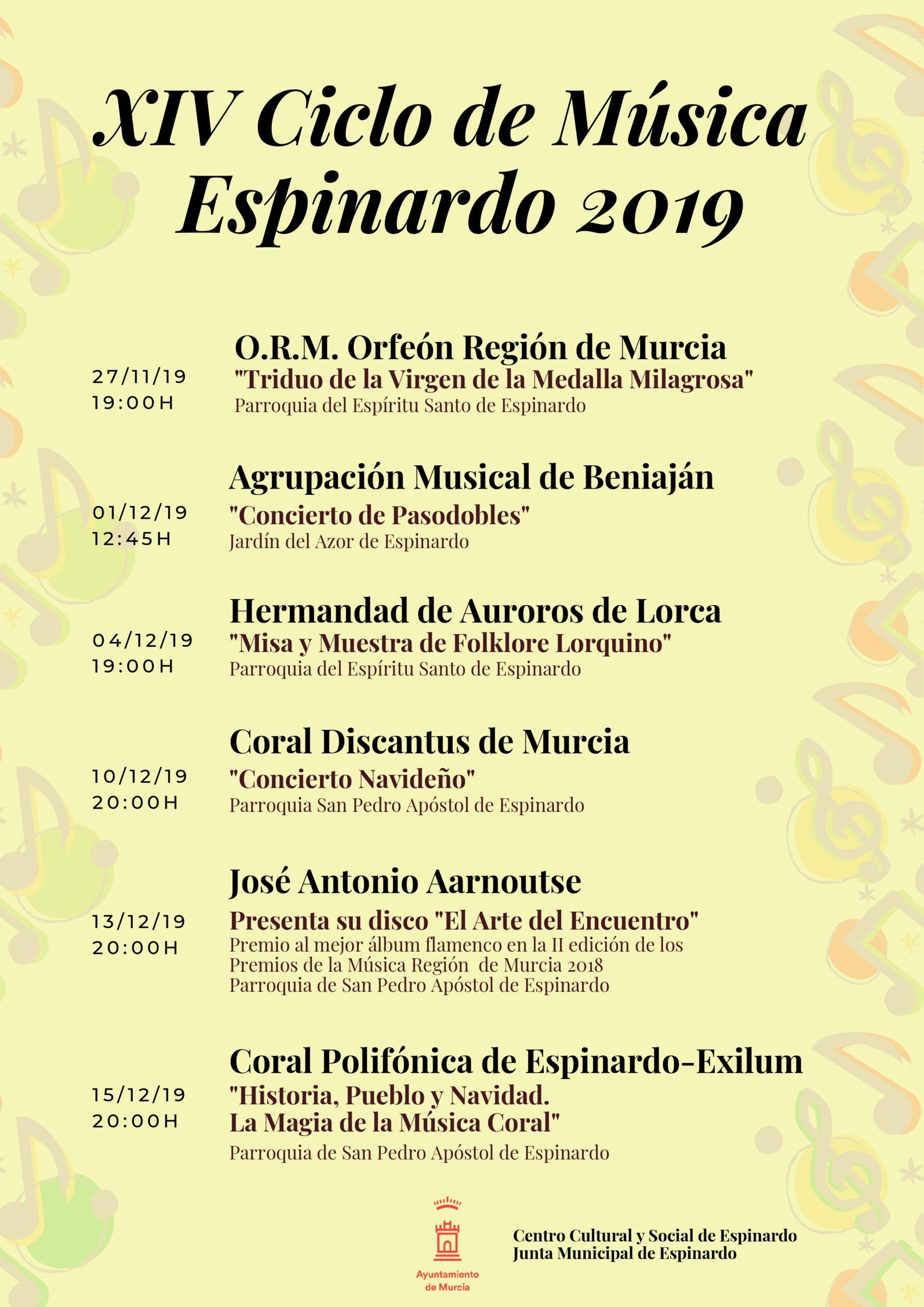 Ciclo de Música Espinardo 2019