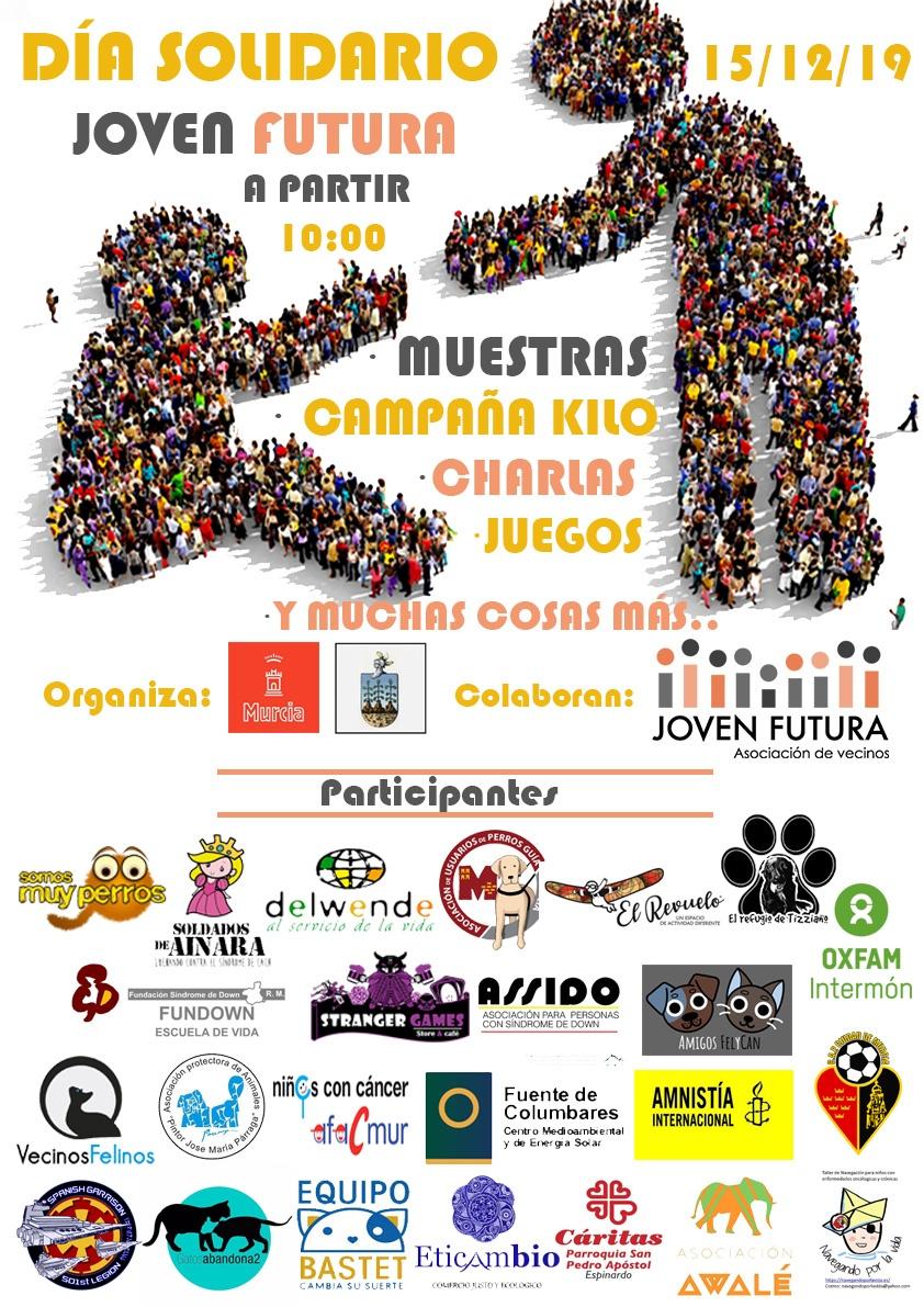 2019-12-15 Cartel Jornada Solidaria Joven Futura 2019