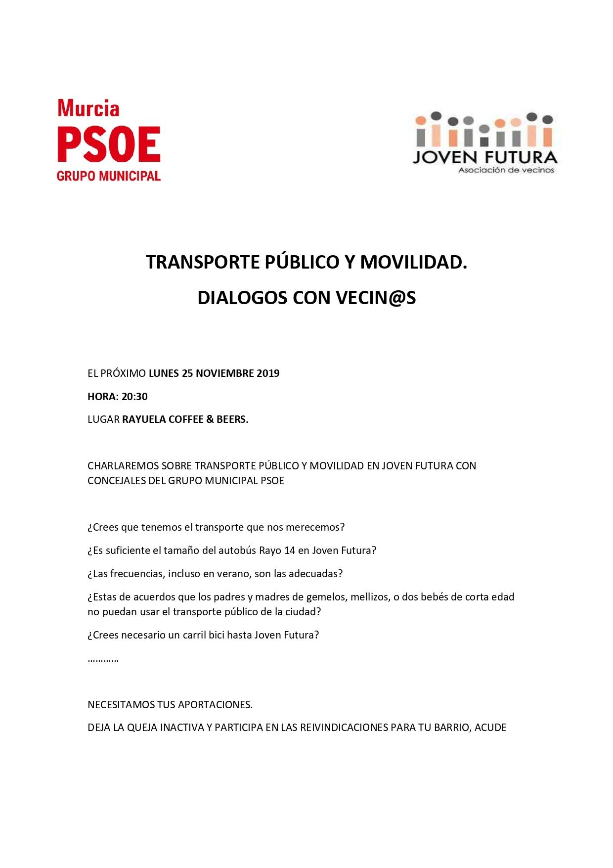 TRANSPORTE PÚBLICO Y MOVILIDAD