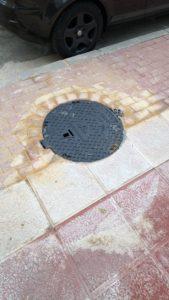 2019-12-20 Tapas reparadas Aguas de Murcia