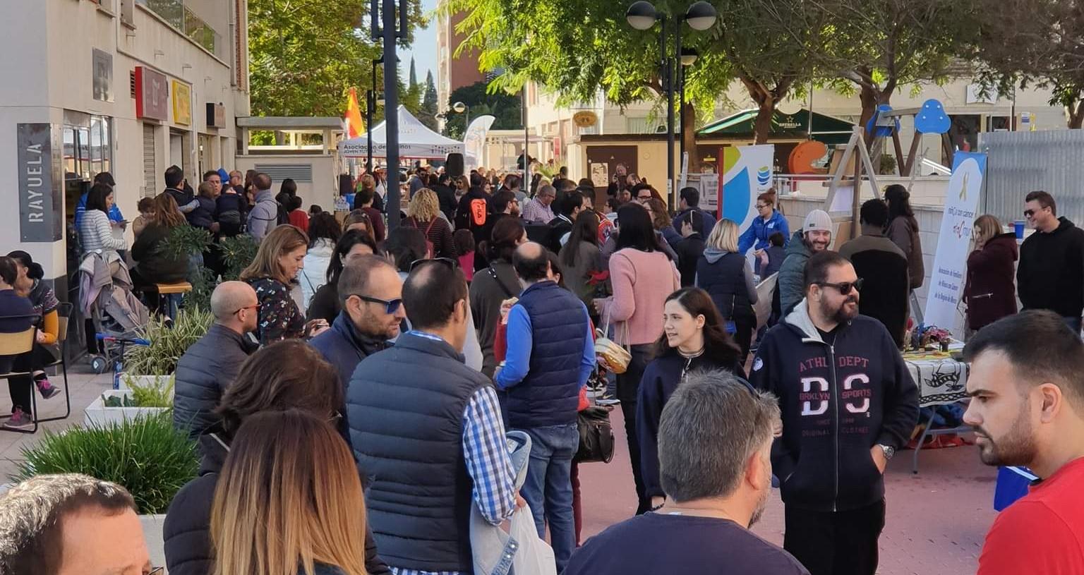 Jornada Solidaria 2019 Joven Futura, Espinardo, Murcia.