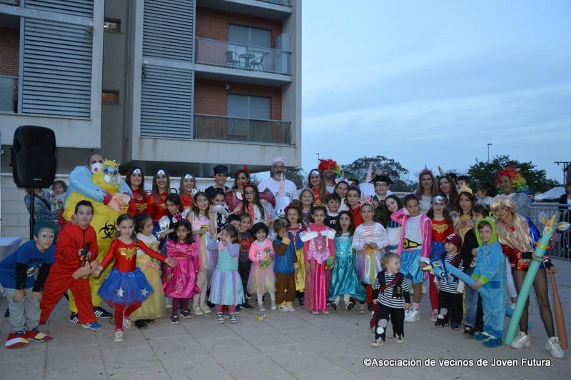 2020-02-29 Fiesta Carnaval por la tarde en Joven Futura