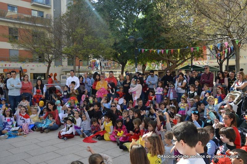 2020-02-29 Fiesta Carnaval por la mañana en Joven Futura