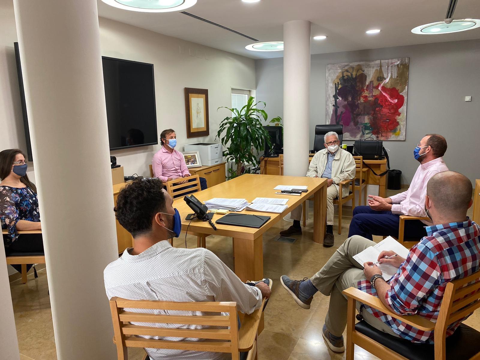 2020-10-07 Reunión con José Guillén para temas de Joven Futura