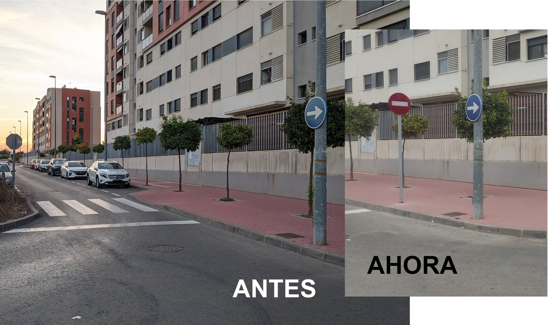 2020-11-11 Mejora en señalización de calle Académicas del Jardín en Joven Futura