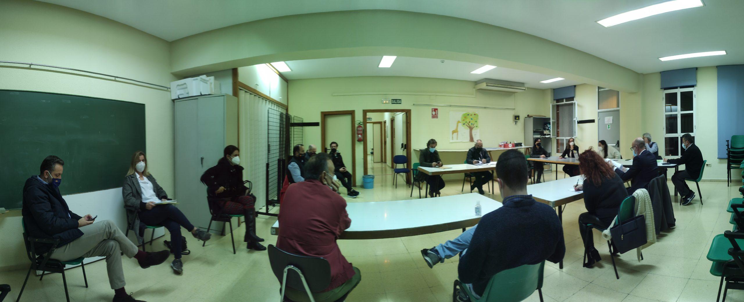 2020-11-24 Junta Municipal de Espinardo celebrada en Guadalupe el 25 de noviembre de 2020