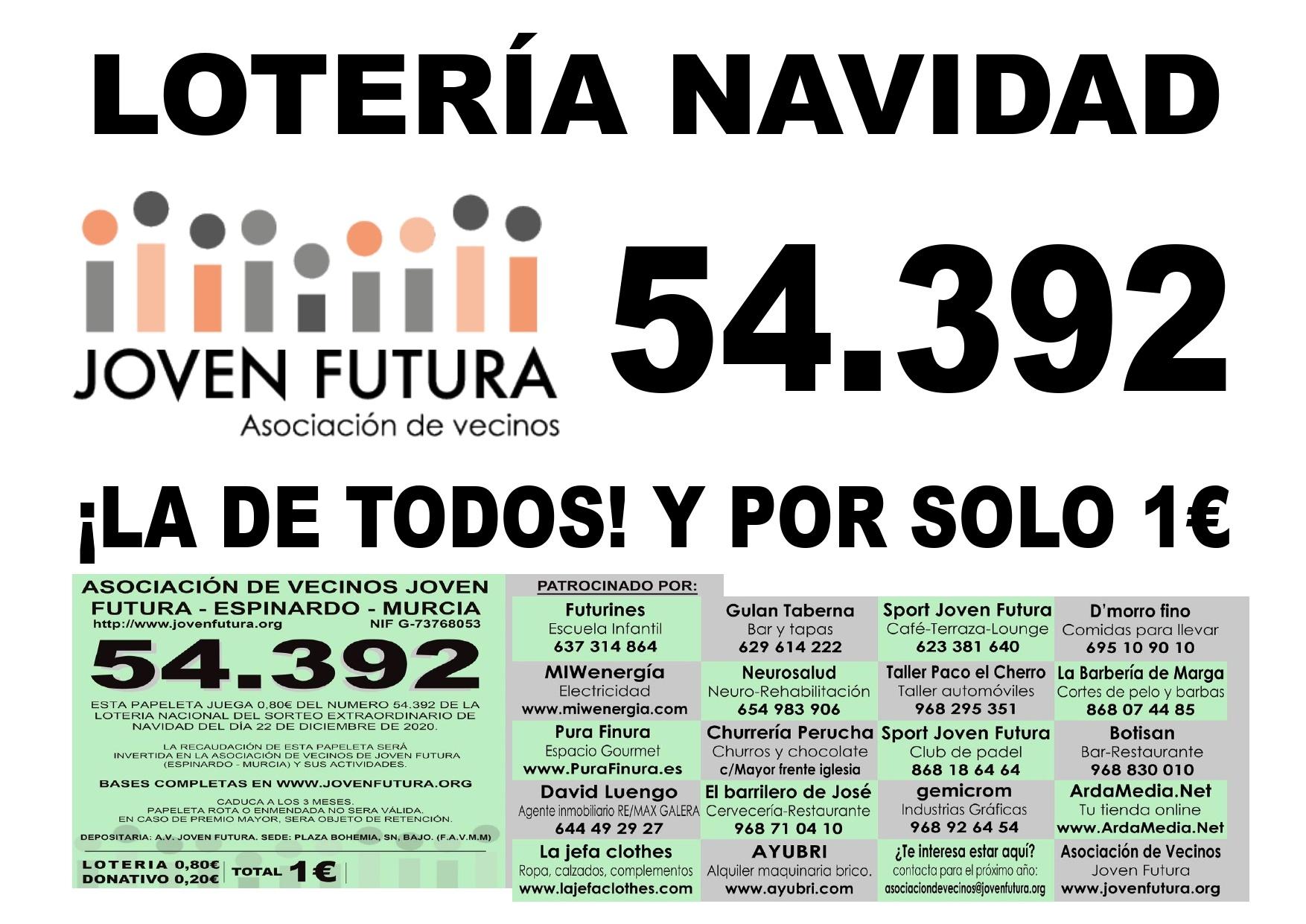 HAY LOTERIA DE NAVIDAD 2020