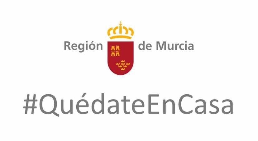Quédate en casa - Gobierno de Murcia
