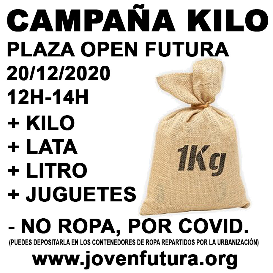 CAMPAÑA-KILO 2020 JOVENFUTURA