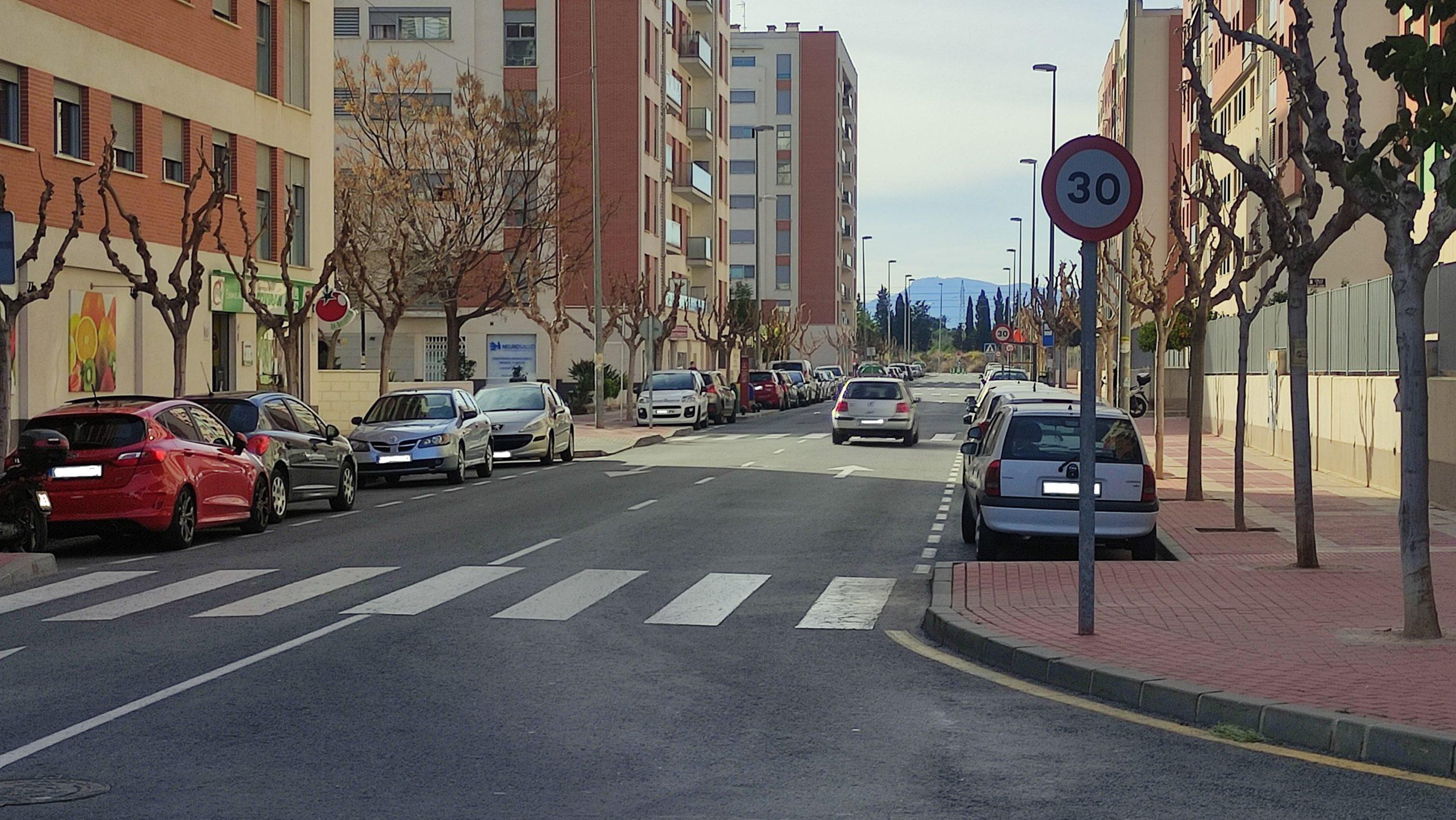 Avenida Joven Futura Entrada comercial