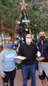 2o Premio - María - Tabla quesos y botella vino