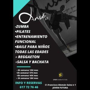 2021-02-06 Flyer actividades Centro Deportivo Sport Joven Futura