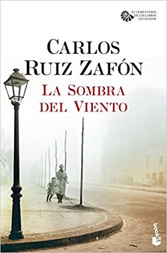 Portada - Carlos Ruiz Zafón - La Sombra del Viento - Club de Lectura de Joven Futura