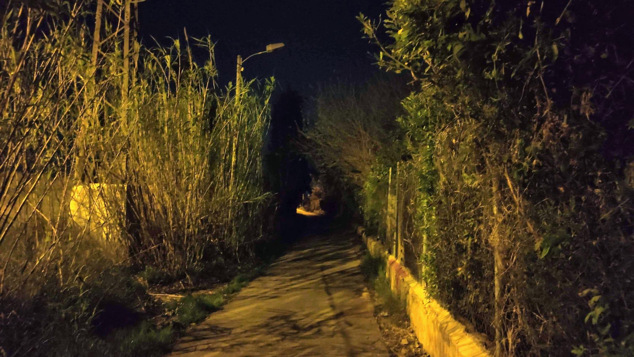 2021-03-20 Calle Doctor de la Peña sin iluminación en Joven Futura