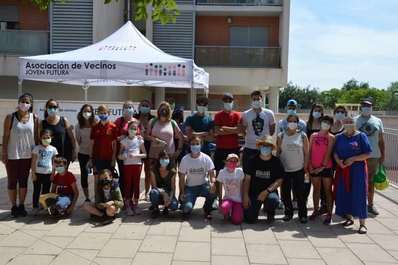 2021-05-08 Recogida basuraleza en Joven Futura - Espinardo - Murcia