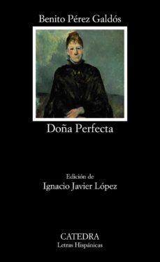 Portada - Benito Pérez Galdos - Doña Perfecta - Club de Lectura de Joven Futura