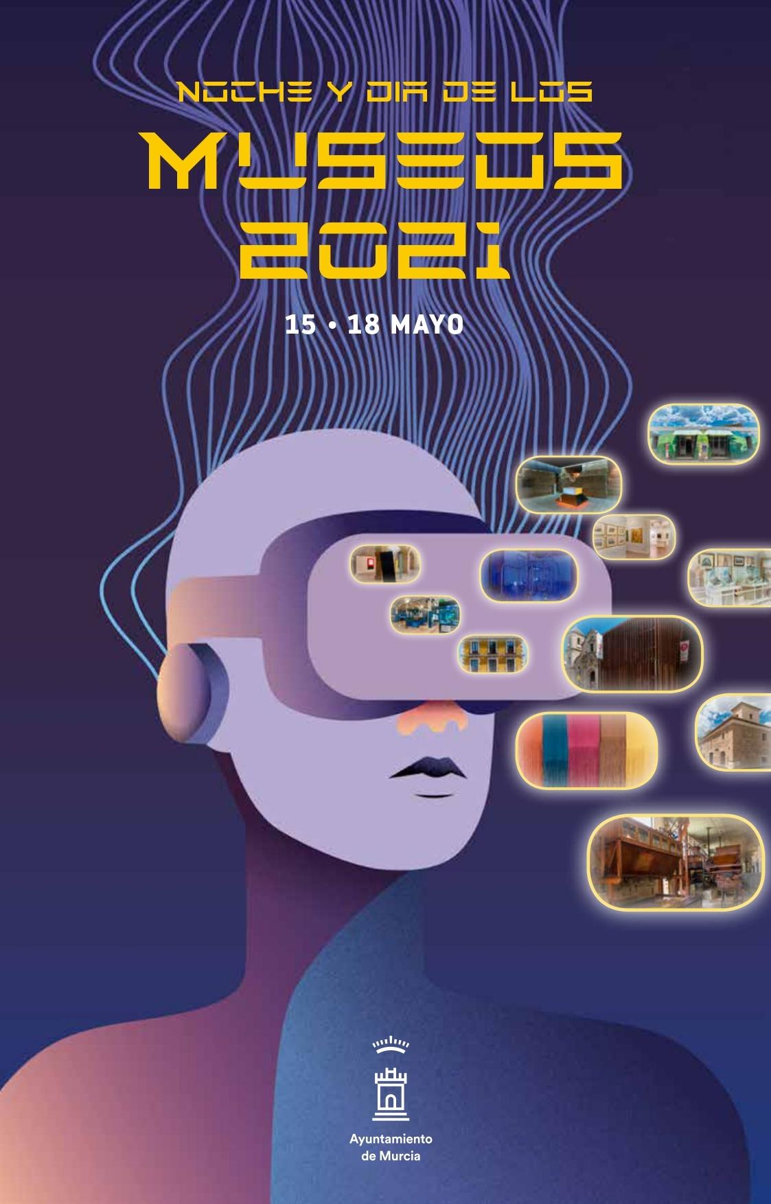 Portada Noche y Día de los Museos 2021 - Murcia