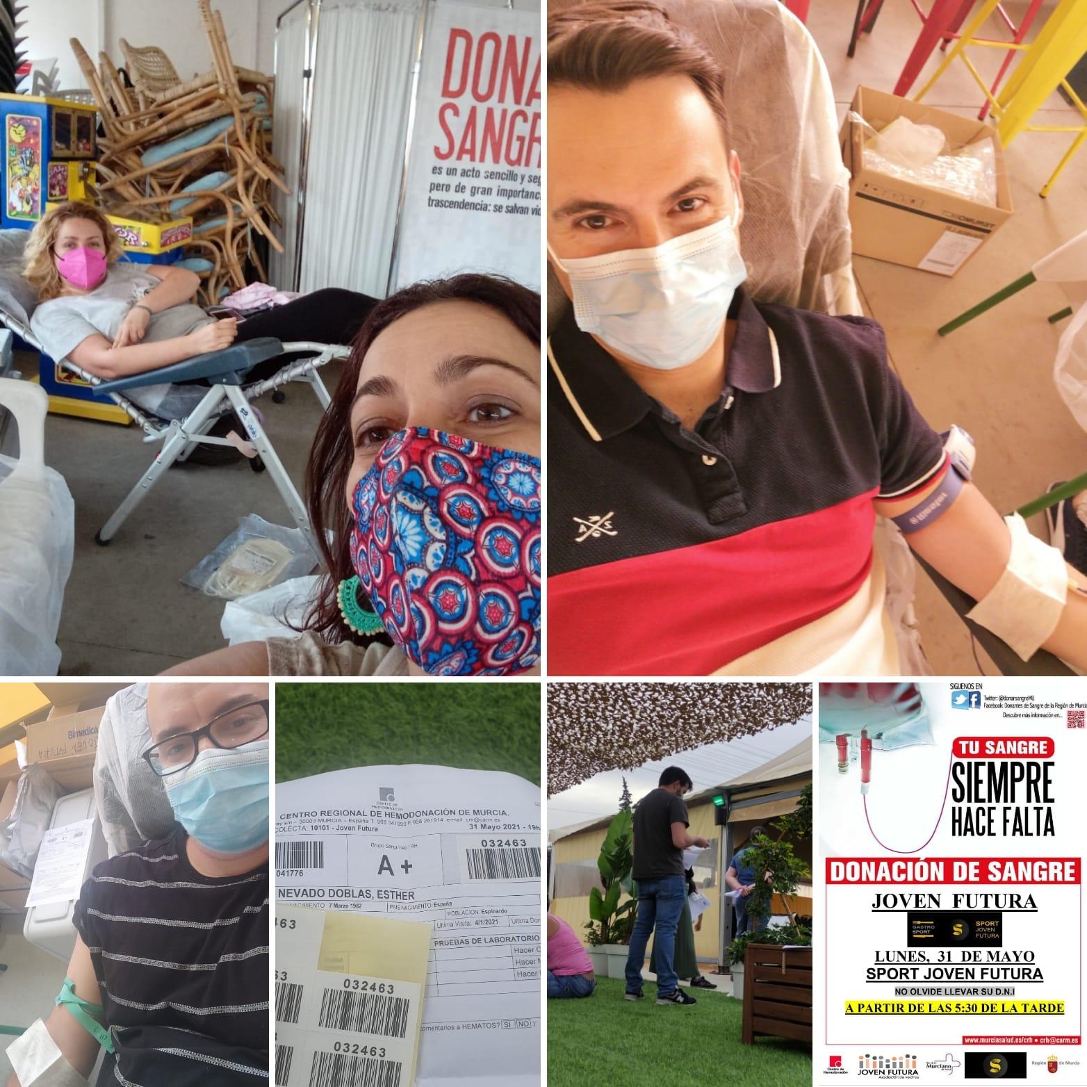 2021-05-31 Hemodonación en Joven Futura