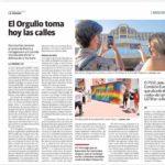2021-06-25 Inauguración graffiti derechos LGTBI+ en Joven Futura aparecido en La Verdad