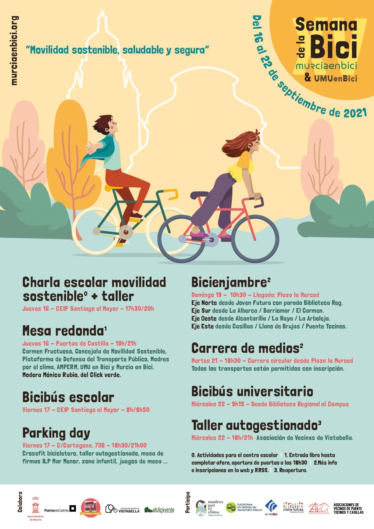 2021-09-11 Cartel Semana de la movilidad con participación de Joven Futura